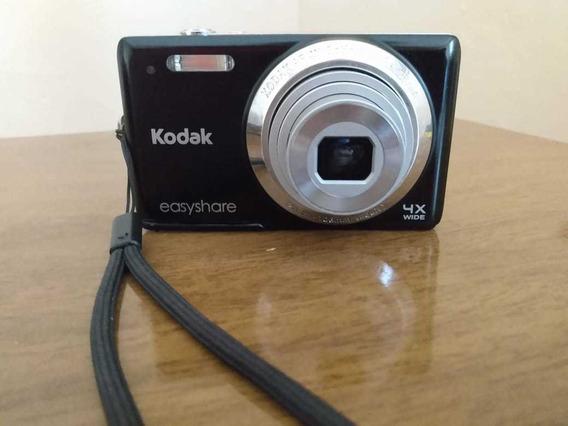 Câmera Digital Kodak Easyshare 14 Mp Preta