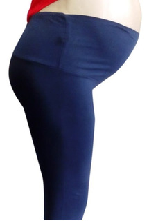 Leggins De Maternidad En Algodón Pantalón Xxl