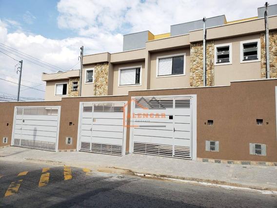Sobrado Frontal Com 2 Dormitórios Sendo 2 Suítes À Venda Por R$ 270.000 - Vila Progresso (zona Leste) - São Paulo/sp - So0215
