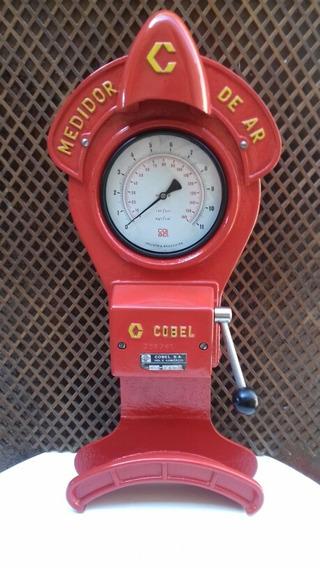 Antigo Calibrador De Ar Cobel ...funcionando /com Iluminação