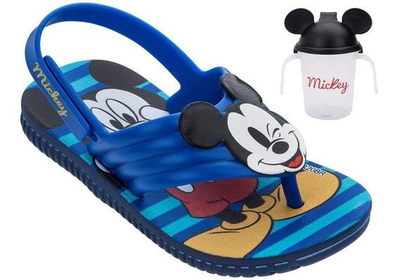 Grendene Disney Mickey Copinho 22165 Chinelo Infantil Menino
