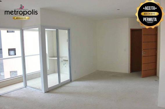 Apartamento À Venda, 119 M² Por R$ 740.000,00 - Santa Paula - São Caetano Do Sul/sp - Ap0707