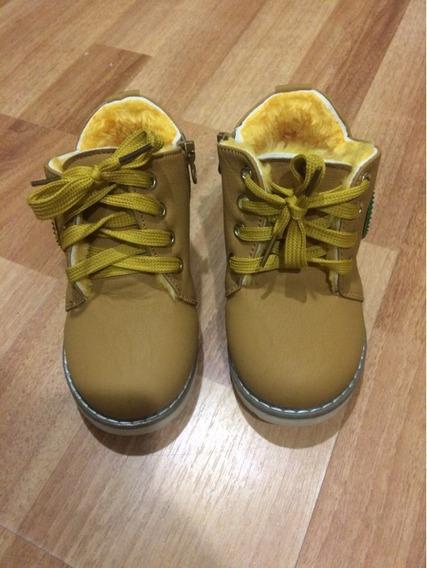 Tênis Botinha Acolchoada Infantil Tenis Sapato Quente