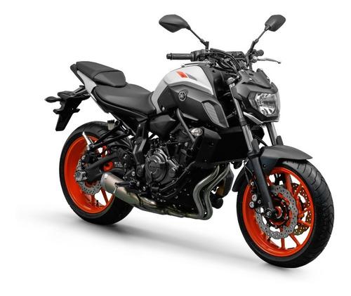 Mt07 Abs 2021 Yamaha 0km Cinza