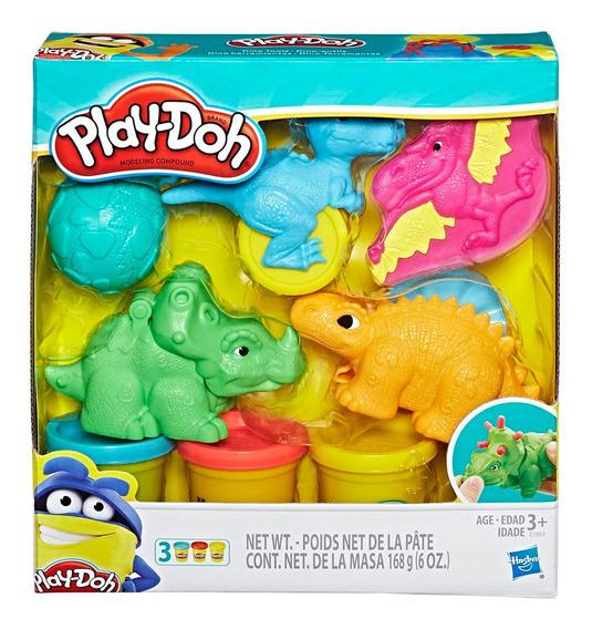 Play Doh Masa Dino Herramientas Original Hasbro