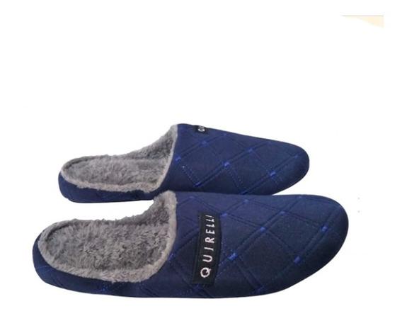 Pantuflas Marca Quirelli Super Comodas Color Azul