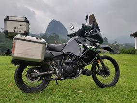 2016 Kawasaki Klr 650 W Givi Luggage