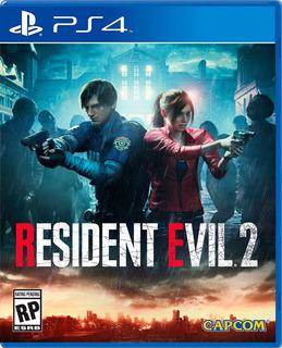 Resident Evil 2 Remake De Coleccion Playstation 4 Ps4 Promo