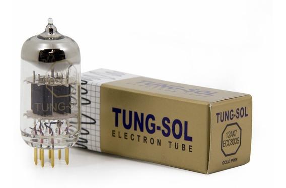 Valvula Tungsol 12ax7 Ecc803s Ecc83s Gold Pin Pinos Ouro