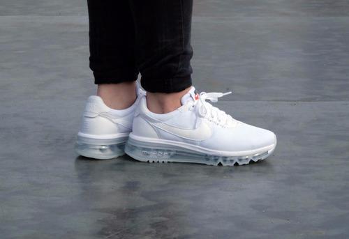 código Morse Inconveniencia Disciplinario  Zapatillas Nike Air Max Ld Zero White Todo Blanco   Mercado Libre