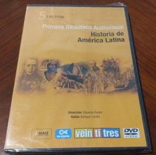 Historia De América Latina Los Incas Dvd Sellado Veintitrés