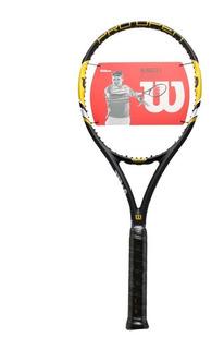 Raqueta Tenis Wilson Pro Open Aro 100 Grafito Alta Gama