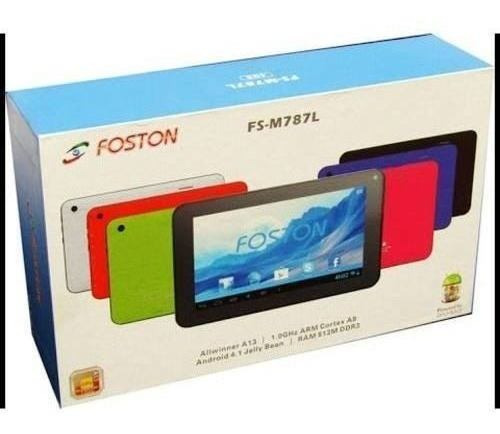 Tablet Foston 787 Quadcore Camera Wifi Android C/nf 6.0