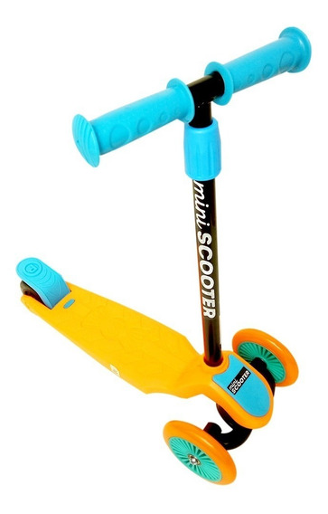 Monopatin Infantil 3 Ruedas Mi Primer Scooter Freno Simple