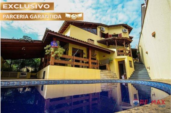 A Casa Da Esquina! 4 Dormitórios No Bairro City América - So7111