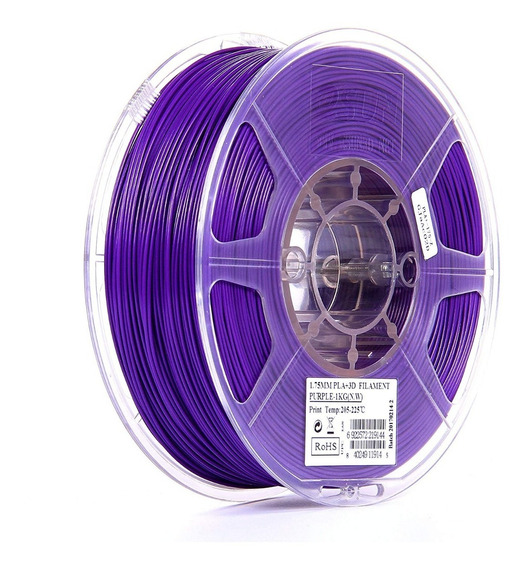 Filamento Esun Pla+ Roxo 1.75mm 1kg