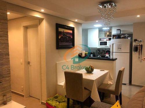 Imagem 1 de 19 de Apartamento À Venda, 43 M² Por R$ 340.000,00 - Jardim Las Vegas - Guarulhos/sp - Ap2156