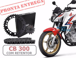 Kit Relação Completa Honda Cb 300 R Com Retentor Cb300r 1045