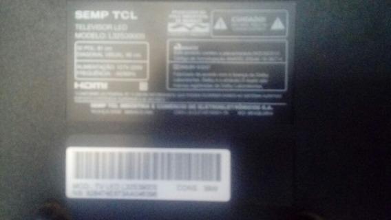 Tv Smart 32 Tcl Semp P/ Retirada De Peças Display Danificad