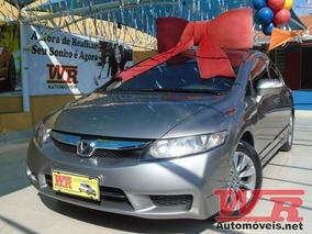 New Civic 2011 Lxl 1.8 Flex Automático + Couro