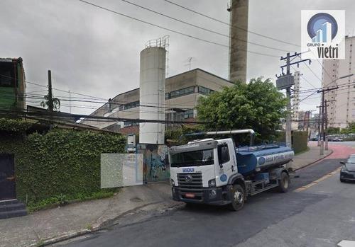 Área Industrial À Venda, Jaguaré, São Paulo. - Ar0071