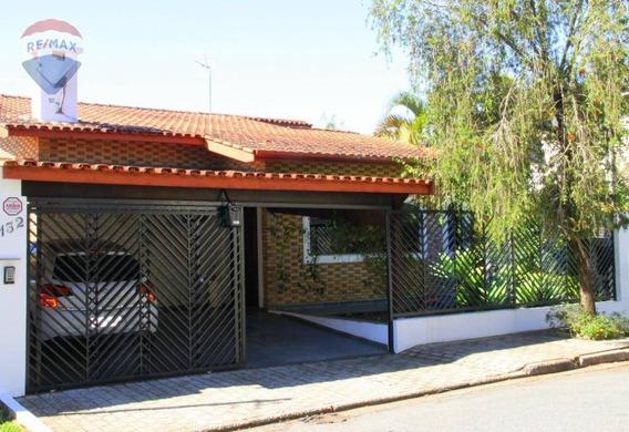 Casa Com 4 Dormitórios À Venda, 360 M² Por R$ 860.000 - Jardim Tapajós - Atibaia/sp - Ca5506