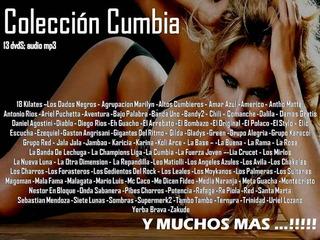Coleccion Completa - Consagrados Cumbia (13 Dvd)