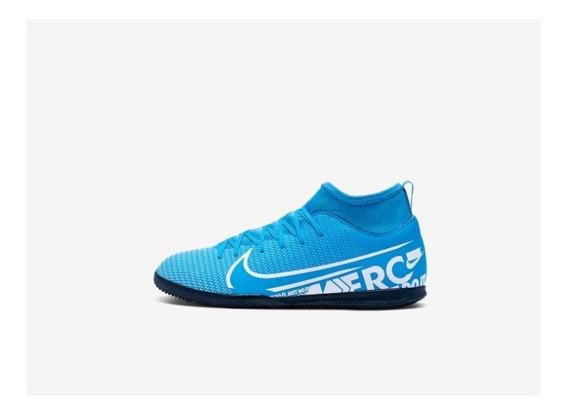 Chuteira Nike Jr Mercurial Superfly 7 Club Ic + Nf