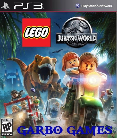 Jogo De Ps3 Lego Jurassic World Em Mídia Digital
