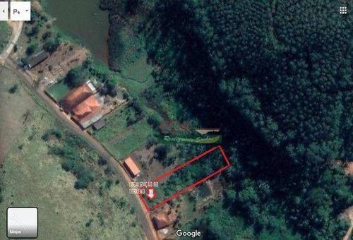Imagem 1 de 5 de Chácara À Venda, 1600 M² Por R$ 65.000,00 - Zona Rural - Monteiro Lobato/sp - Ch0791