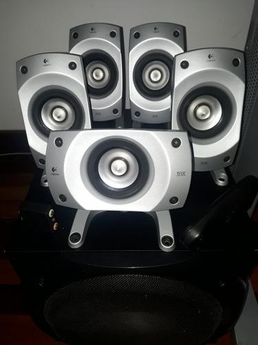 Cornetas Logitech Sistema 5.1 Z5500