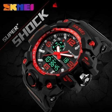 Relogio S-shock Skmei 1155 Original Resistente A Agua