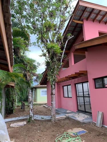 Imagem 1 de 26 de Casa Nova Em Itamambuca, 60 Metros Da Praia - 34555