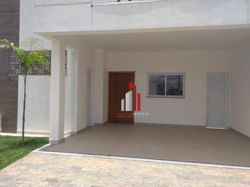 Casa À Venda, 107 M² Por R$ 610.000,00 - Vila Monte Alegre - Paulínia/sp - Ca0188