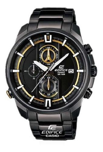Reloj Casio Edifice Efr-533bk 1a9 -100% Nuevo Y Original