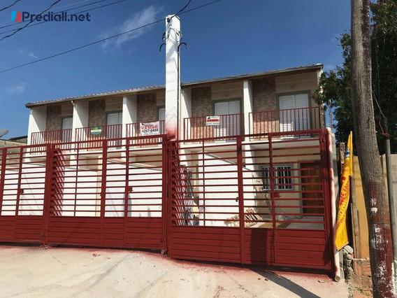 Casa Com 2 Dormitórios À Venda, 60 M² Por R$ 165.000 - Jardim Alegria - Francisco Morato/sp - Ca0503