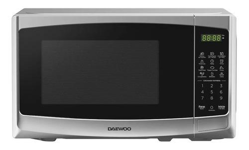 Imagen 1 de 2 de Daewoo Horno Microondas 0.7 Pies Silver Dmdp07s2bg