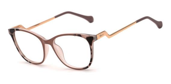 Armação Oculos Ogrife Og 1813-c Feminino Com Lente Sem Grau