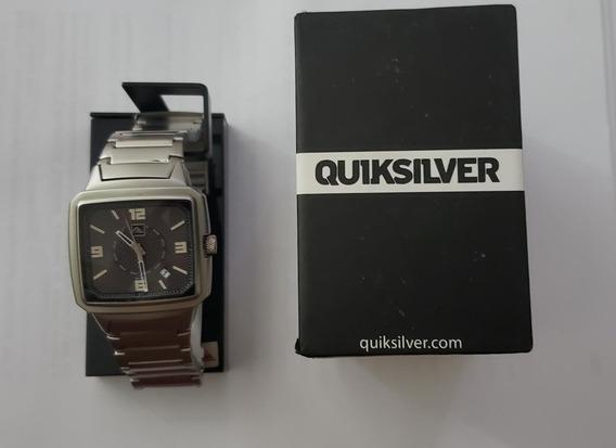 Relógio Quiksilver Benzen Metal Analógico Quartz