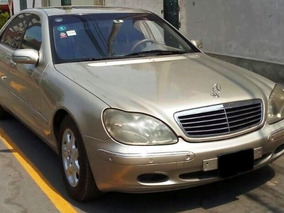 Mercedes-benz Clase S500