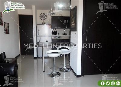Apartamentos Amoblados Baratos En Medellín Cód: 4393