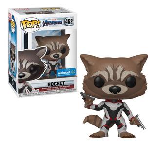 Funko Pop Rocket Marvel Avengers 462 - Minijuegos