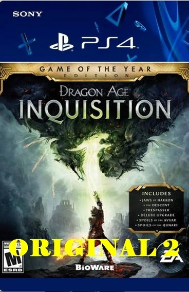Dragon Age Inquisition - Ps4 Cod 2 Envio Já Pt Br