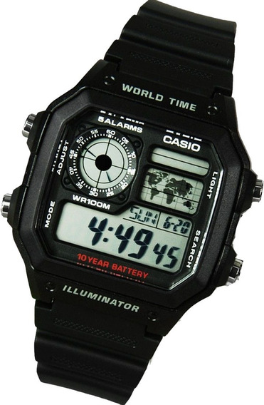 Relógio Casio World Time Original