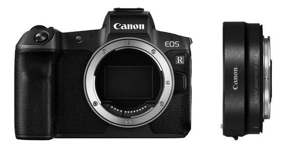Câmera Canon Eos R - Corpo + Adap. Ef-eos R - Lj. Platinum