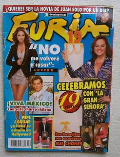 Furia Musical 19 Años Año 20 # 9 2012 Lucero