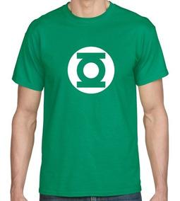 Camiseta Estampada Linterna Verde