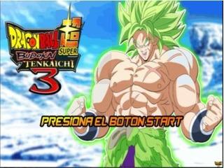 Juego Ps2 Dragon Ball Budokai Tenkaichi 3 Edición Broly V4