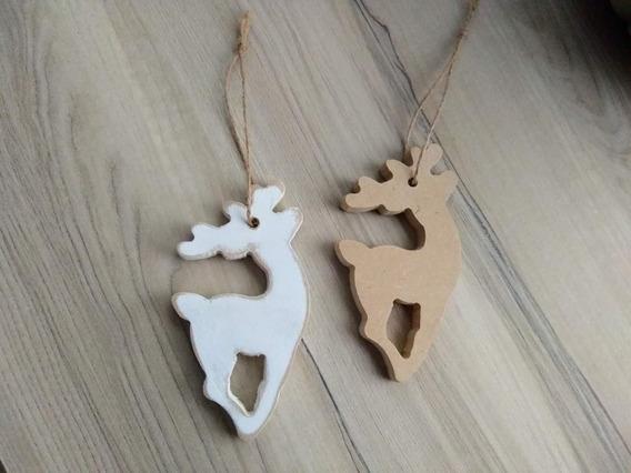 Figuras Adorno Navidad Decoracion Souvenir Madera Fibrofacil