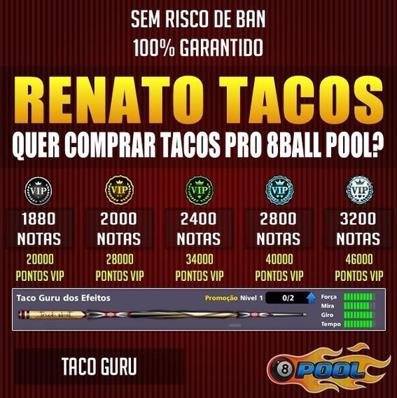 Taco Guru + Notas 8 Ball Pool